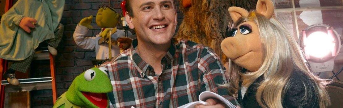 Jason Segel and Kermit – The Muppets