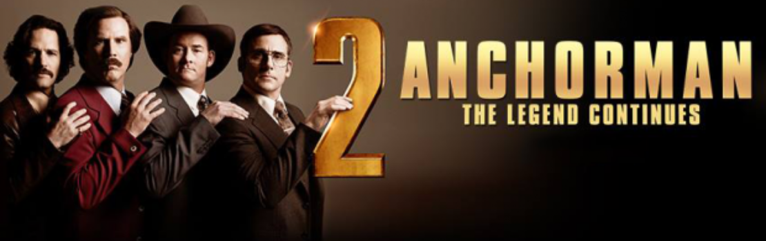 New Poster Anchorman 2: The Legend Continues