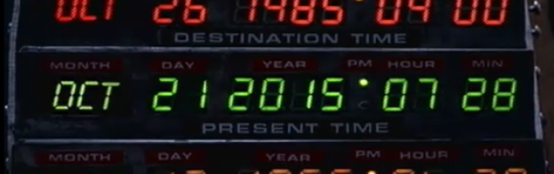 Perth to Celebrate Back to the Future Day!