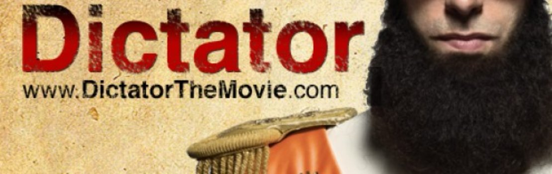 The Dictator Trailer Debut