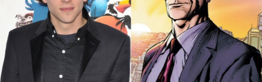 Jesse Eisenberg talks Lex Luther