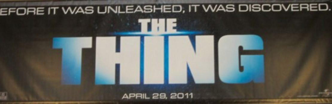 The Thing – *UPDATE* New Release Date for U.S.