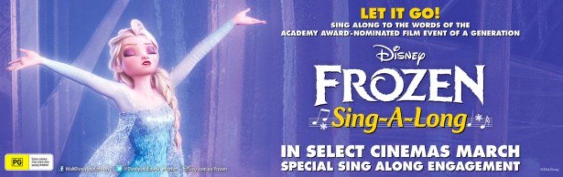 Disney's Sing-A-Long Frozen heading to Cinemas