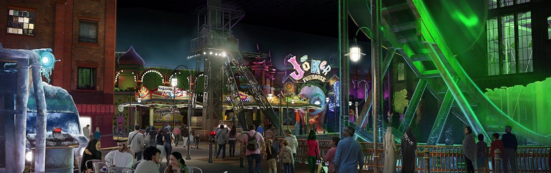 Real-life Gotham City and Metropolis Coming to Warner Bros. World Abu Dhabi