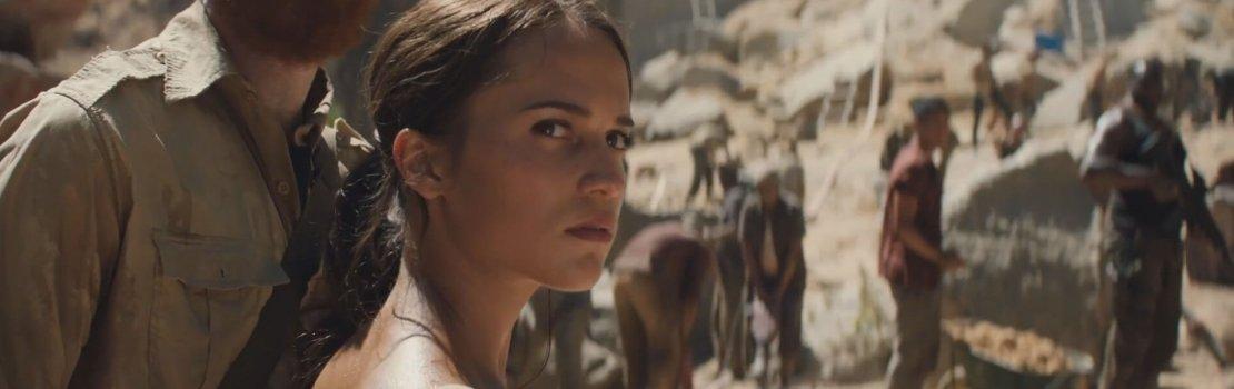 Alicia Vikander is Lara Croft in Tomb Raider