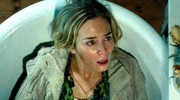 It's a Quiet Place with Emily Blunt and John Krasinski