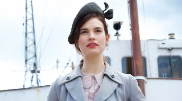 The Guernsey Literary and Potato Peel Pie Society Trailer has arrived… yes thats the name!