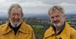 Sam Neill and Michael Caton Lead the cast of RAMS which is filming in Mt Barker