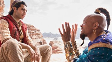 First look at Will Smith as the BLUE Genie in Disney's Aladdin