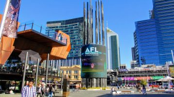 Yagan Square lights up for Star Wars: The Rise of Skywalker