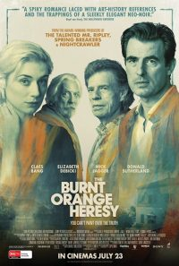 The Burnt Orange Heresy Trailer