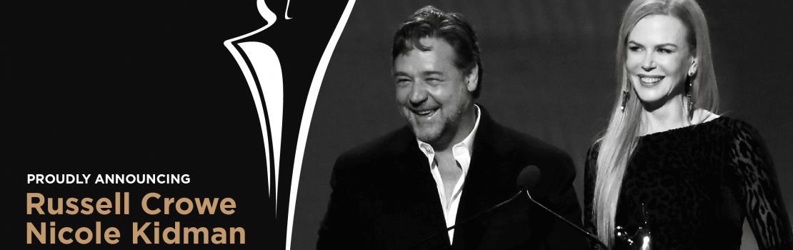 Russell Crowe and Nicole Kidman New Leaders of AACTA