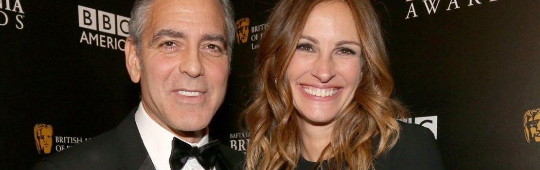 George Clooney, Julia Roberts and Billie Lourd head to Queensland