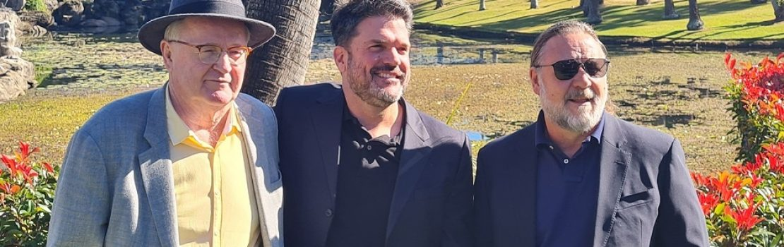Russell Crowe leads the pitch for Pacific Bay Resort Studios & Village in Coffs Harbour