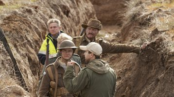 Shooting Wraps in Western Australia on World War I Epic